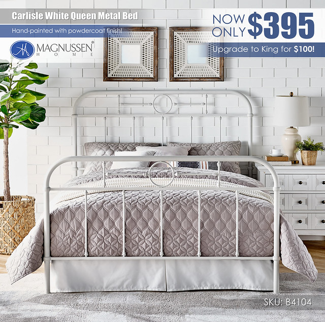Carlisle White Queen Metal Bed_B4104_Updated