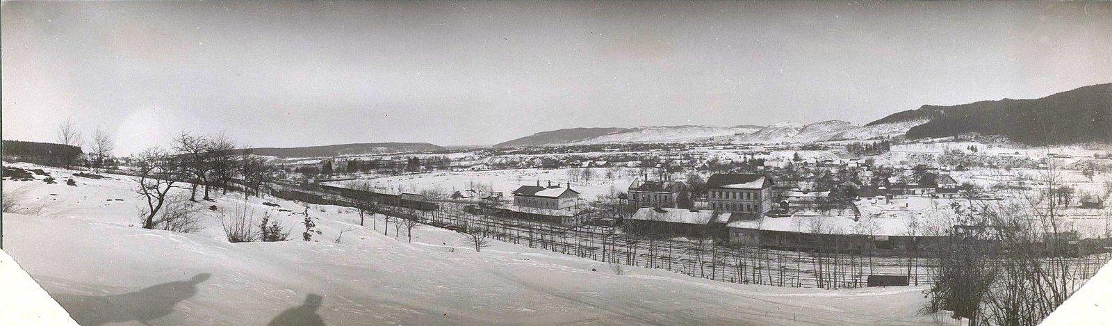 1914. Вид на Галицийский городок