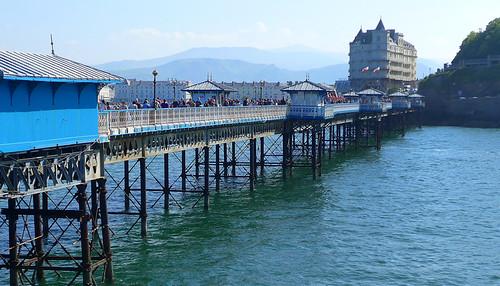 The pier at Llandudno in Wales