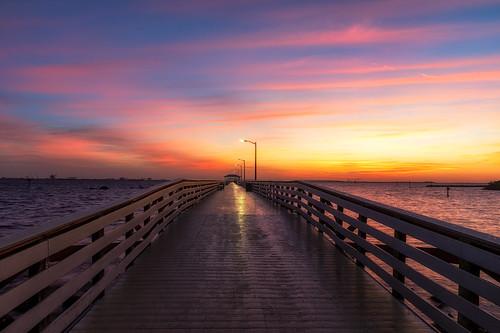 ballastpointpark florida sunrise tampa unitedstatesofamerica