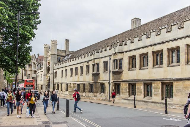 Christ's College, Cambridge, England