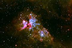 Center of Carina Nebula from Sydney