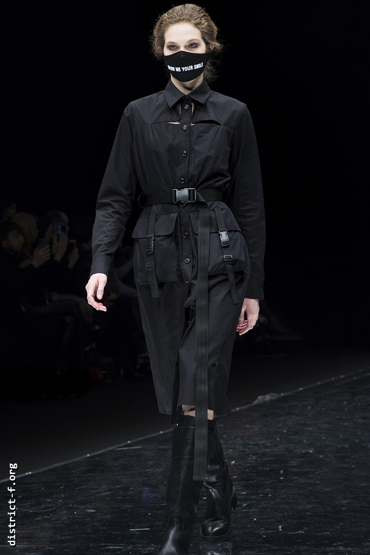 DISTRICT F — Collection Première Moscow AW20 — GEORGE SHAGHASHVILI mju
