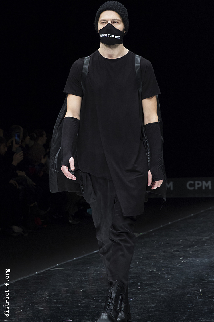 DISTRICT F — Collection Première Moscow AW20 — GEORGE SHAGHASHVILI cde