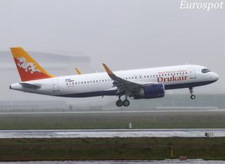 F-WWBH Airbus A320 Neo Drukair Royal Bhutan
