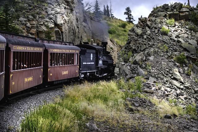 Cumbres & Toltec Scenic Railroad Chama - New Mexico - USA