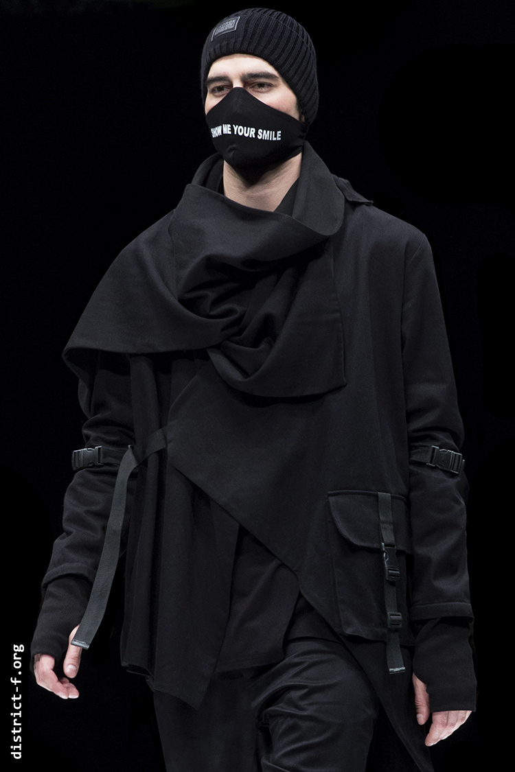 DISTRICT F — Collection Première Moscow AW20 — GEORGE SHAGHASHVILI блш8