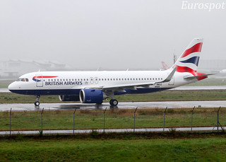 F-WWDZ Airbus A320 Neo British Airways