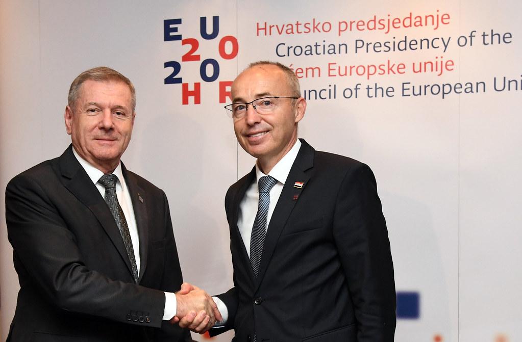 Krstičević i Benkő potpisali Memorandum o osnivanju Multinacionalnog divizijskog zapovjedništva