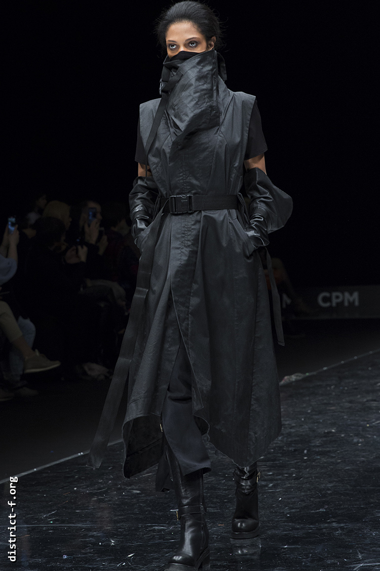 DISTRICT F — Collection Première Moscow AW20 — GEORGE SHAGHASHVILI чы3