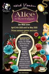 Club Voodoo Presents Alice in wonderland