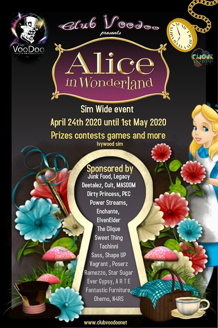 Club Voodoo Presents Alice in wonderland