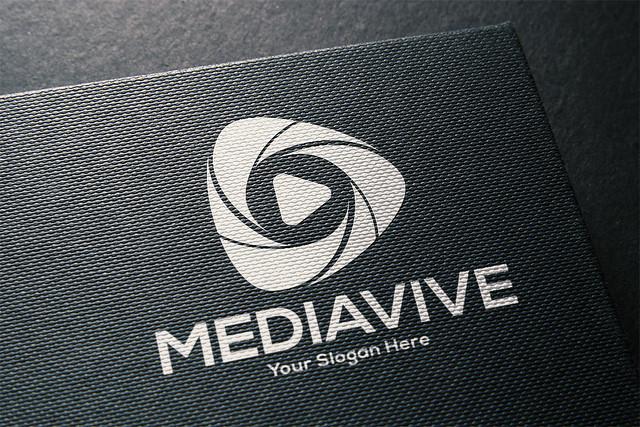 Abstract Media Logo Design- Graphnest Studio