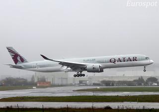 F-WZHF Airbus A350-1000 Qatar