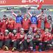 Domácí tým měl po sobotním super-G všechny důvody k radosti., foto: OK Weltcup Hinterstoder/ Manfred Hackl