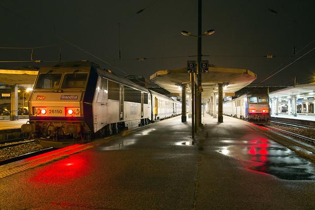 SNCF 26150 + 26144 Mulhouse Ville