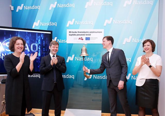 Atklāj jaunu ES fondu programmu uzņēmējiem finansējuma piesaistei kapitāla tirgos