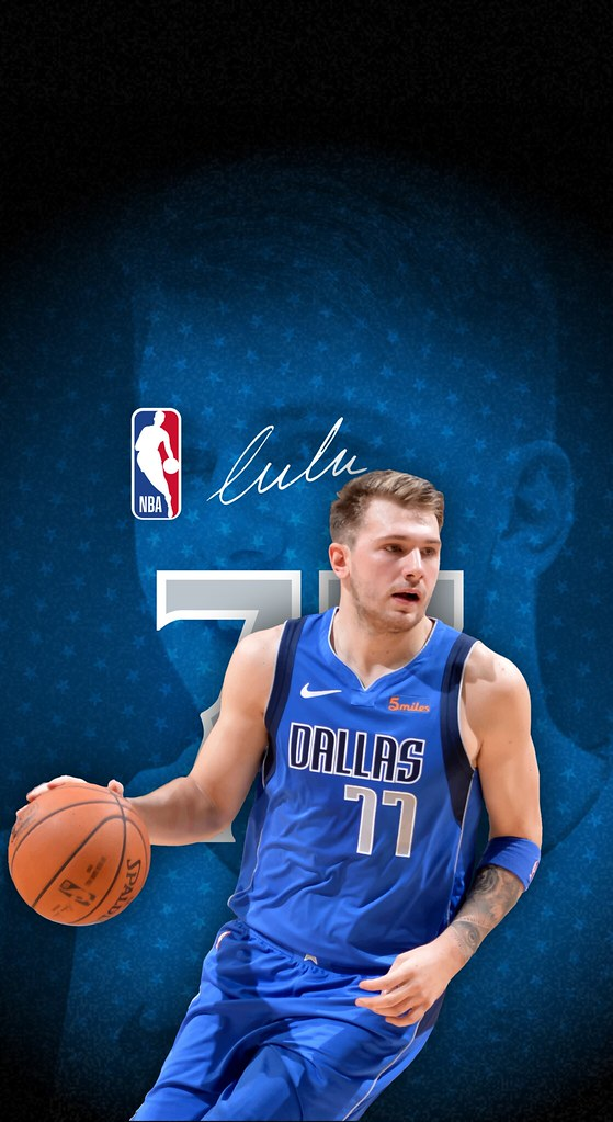 77 Luka Doncic Dallas Mavericks Iphone X Xs Xr Android Wallpaper A Photo On Flickriver