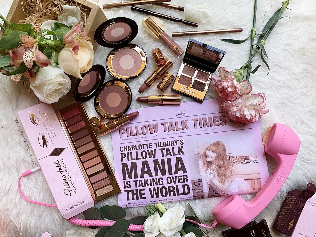 Charlotte Tilbury's Pillow Talk FULL Makeup Line