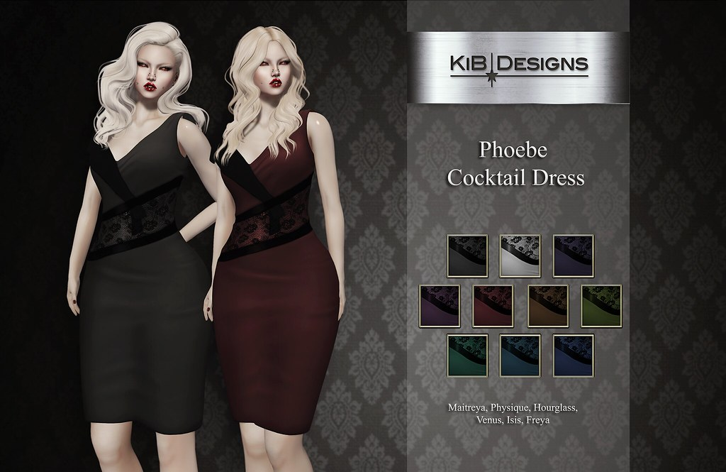 KiB Designs – Phoebe Cocktail Dress @anyBODY Event
