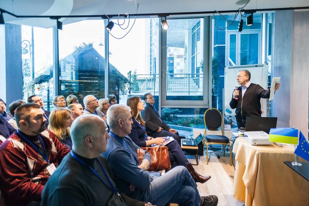 Practical seminar in Kharkiv - local media