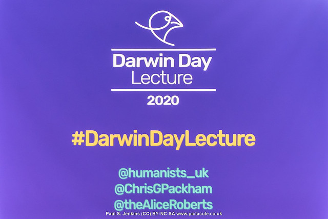 Chris Packham :: Humanists UK Darwin Day Lecture 2020 :: Evolution or Extinction :: Troxy, London :: 2020-02-12