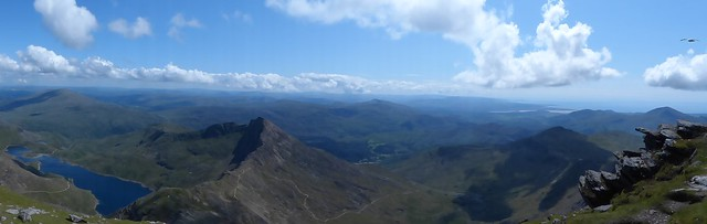 Panorama From Snowdon