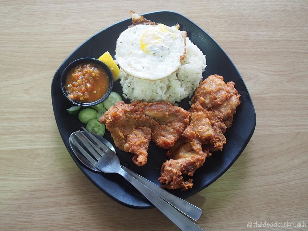 food, food review, review, singapore, yishun, yishun park hawker centre, har cheong gai,prawn paste chicken,ah tan wings,wing wing,atas cutlet