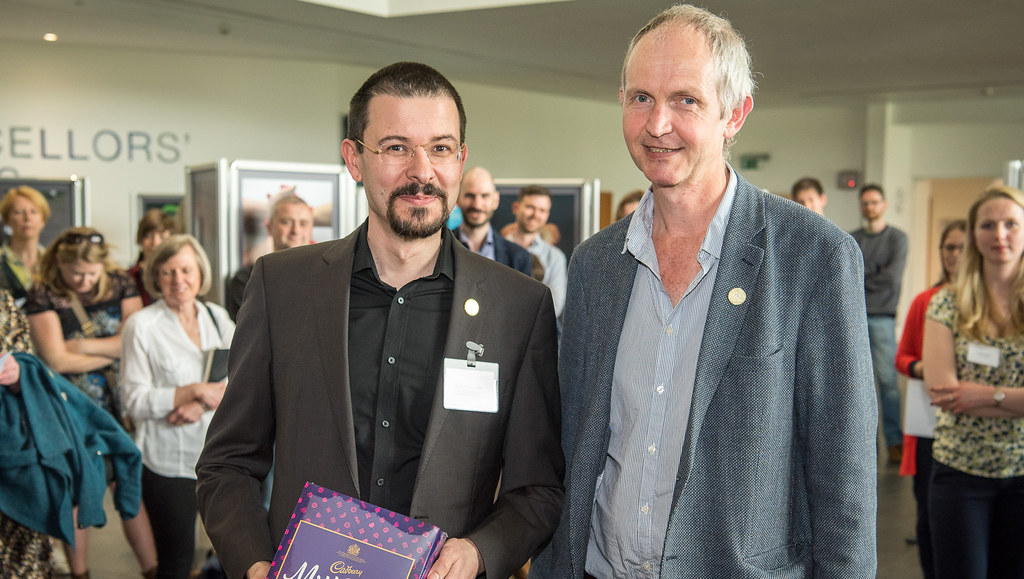 Winner of the 2018 Vice-Chancellor's Awards for Public Engagement with Research