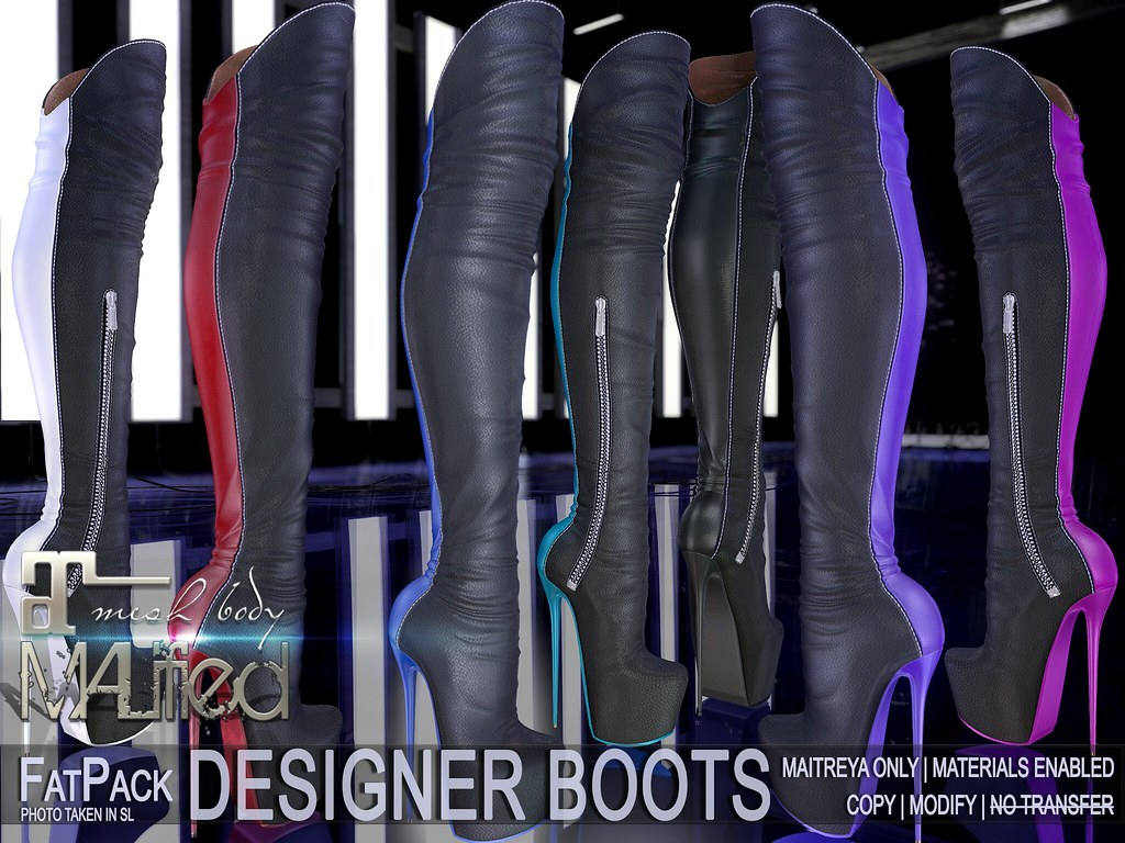 MALified – Designer Boots – FatPack