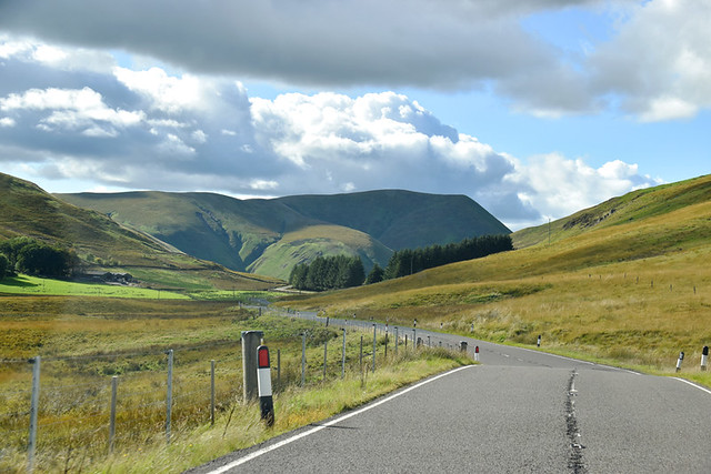 Road trip into Scotland