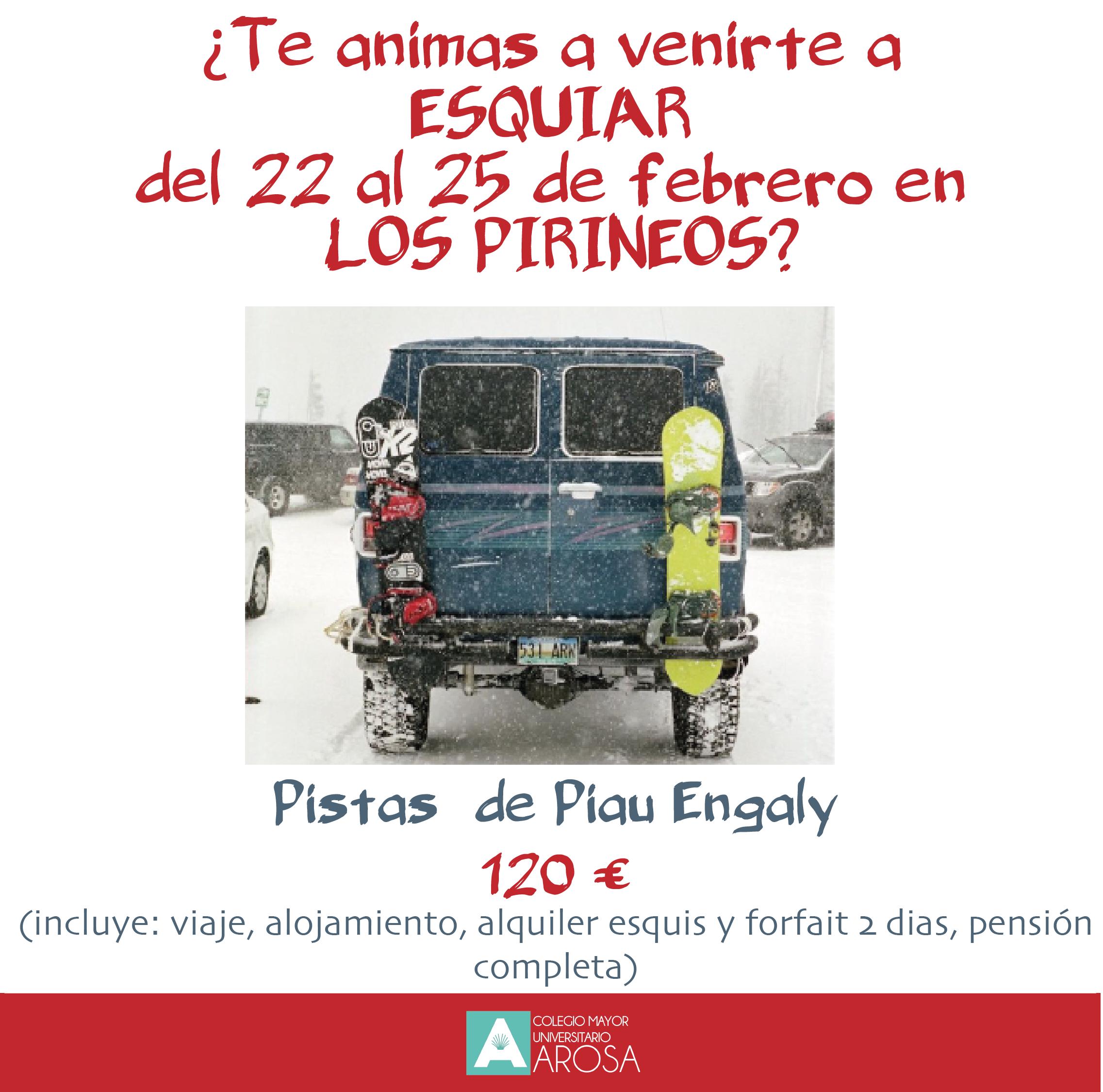 ESQUI EN EL PIRINEO FRANCÉS