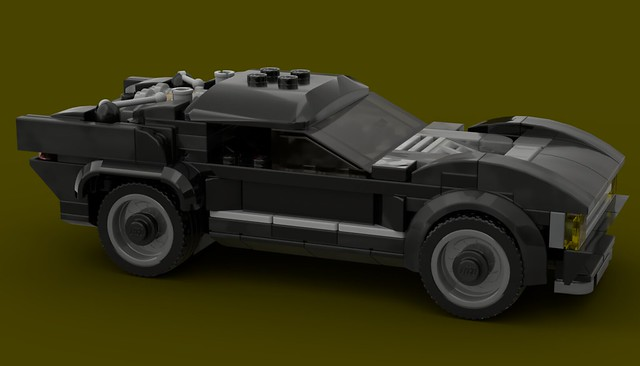 LEGO MOC - Robert Pattinson's Batmobile from The Batman (2021)