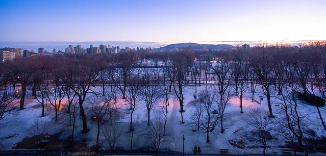Montréal, un 4 mars 2020 au soir