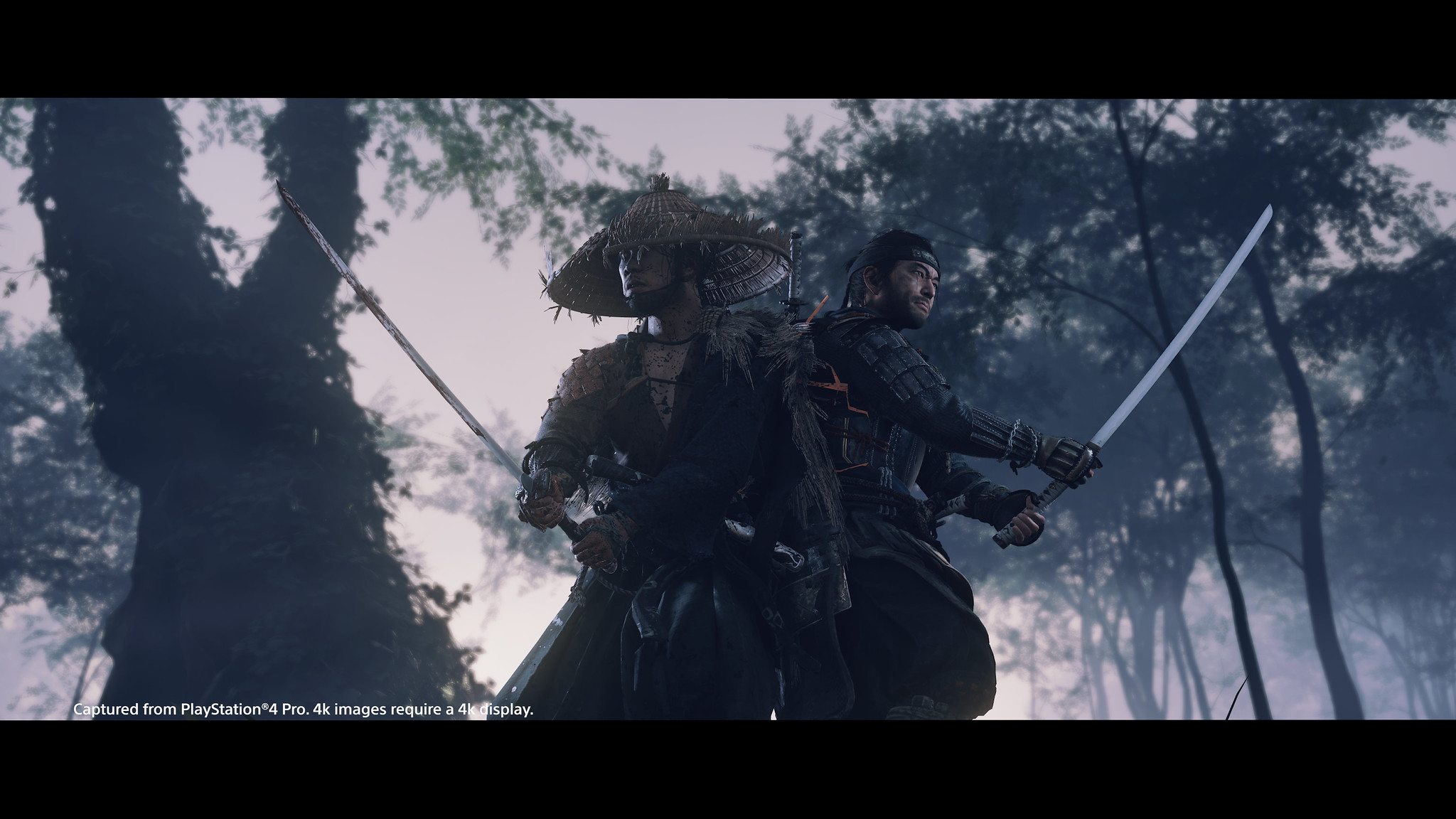 Ghost of Tsushima on PS4