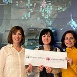 Equipo Mujeres Eólicas del Centro de Control ENDESA España