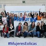 Equipo Mujeres Eólicas de NATURGY