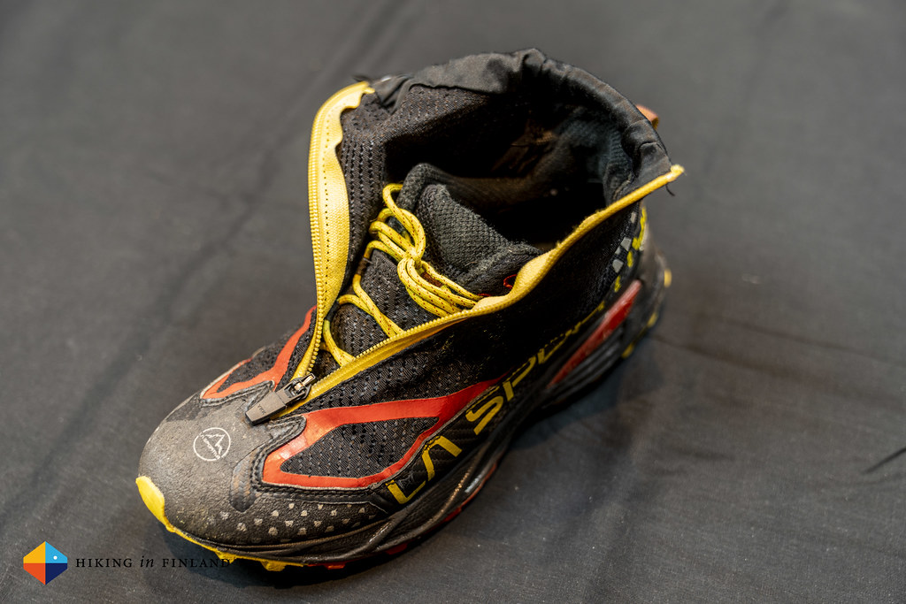 Open Gaiter of the La Sportiva Crossover 2.0 GTX