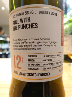 SMWS 58.36 - Roll with the punches