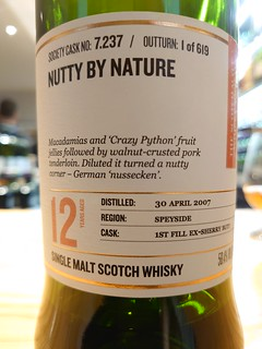 SMWS 7.237 - Nutty by nature