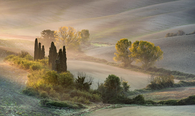 *Val d'Orcia @ autumn mood*