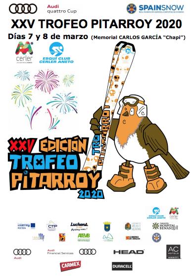 Cartel de la XXV edición del Trofeo Pitarroy