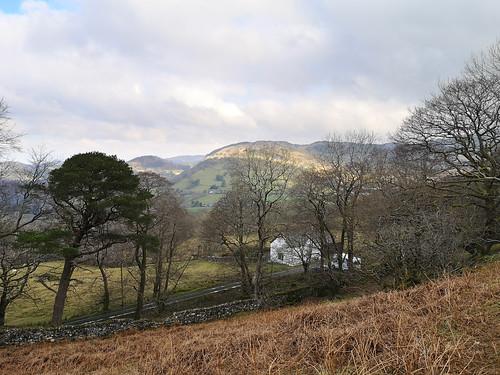 View north (Foel Offrwm path)