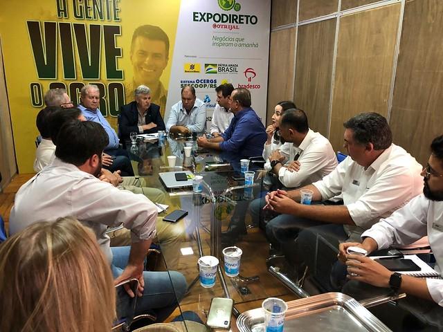 05/03/2020 Reunião com empresários do Agro - 21º Expodireto Cotrijal