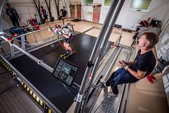 Lyžařský trenažer v biatlonovém centru v Jablonci nad Nisou