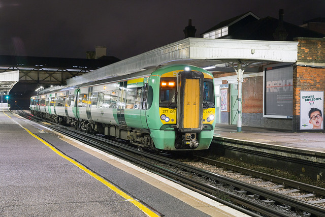Southern 377 123 Hove