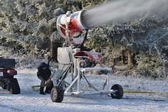 Uměle vyrobená jistota - výroba technického sněhu