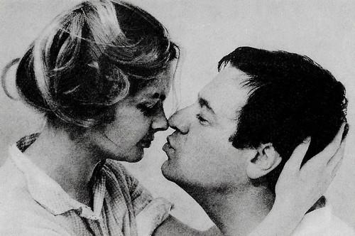 Sabine Sinjen and Hans-Dieter Schwarze in Alle Jahre wieder (1967)