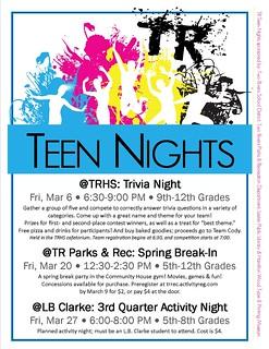 Two Rivers Teen Nights