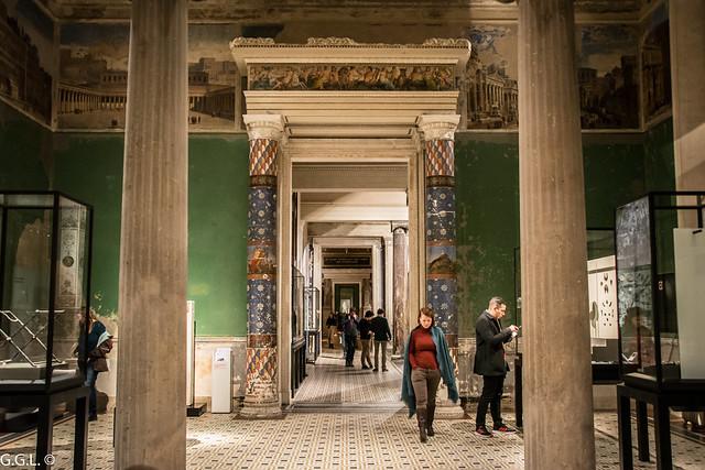Neues Museum. Berlin. Der Römische Saal.